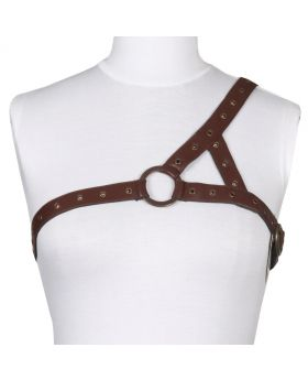 Ladies Steampunk PU Harness