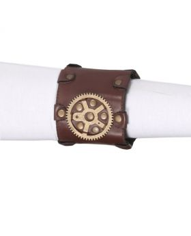 Ladies Steampunk Gear Wrist Cuff