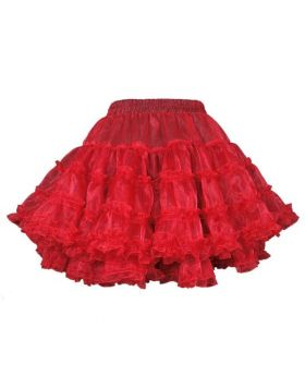 Polyester Based Organza Frilled Tutu Skirt