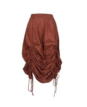 Pigmy Coffee Cotton Steampunk Companion Skirt
