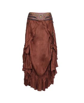 Gladys Rayon Long Skirt