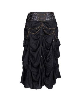 Glenda Brocade Long Skirt