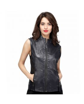 Luciana Genuine Lamb Leather Jacket
