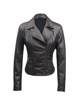 Mariella Genuine Lamb Leather Jacket