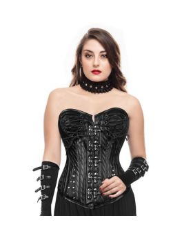 Aphrodite Gothic Authentic Steel Boned Overbust Corset