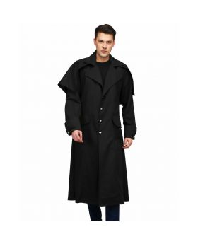 Hawk Vampire Long Coat 1