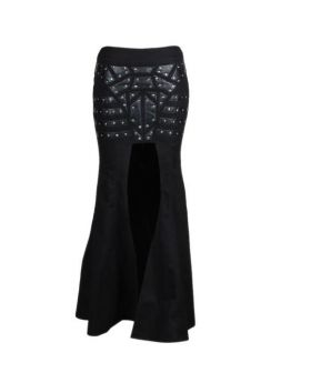 Jelissa Cyber Punk Gothic Long Skirt