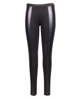 Noemi Black Tapering Trouser
