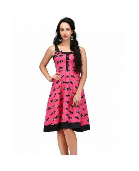 Caelea retro dress