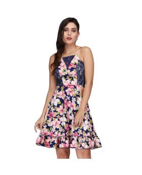Molly Floral Printed Retro Dress