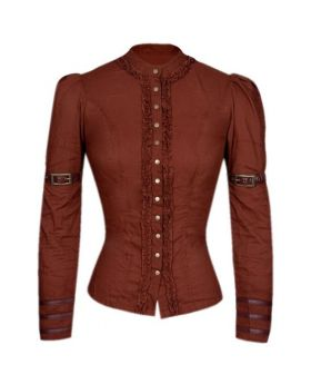 Irene Ladies Steampunk Fullsleeve Top