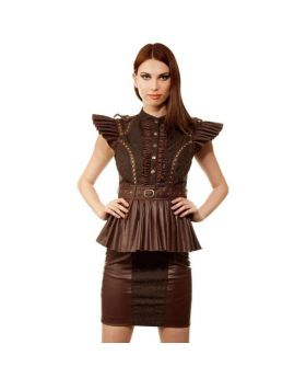 Vanda Steampunk Dress