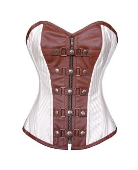 Creamica Steampunk overbust corset
