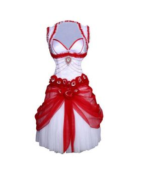 Mabel Couture Authentic Steel Boned Underbust Corset Dress