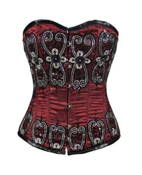 Leslie Couture Authentic Steel Boned Overbust Corset