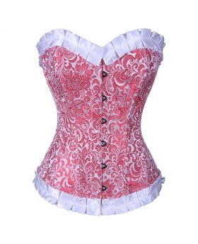 Edric Authentic Steel Boned Waist Reducing Overbust Corset