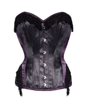Delightful Waist Reducing Burlesque Overbust Corset
