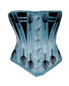 Ekaterina Waist Training Authentic Steel Boned Overbust Corset