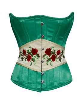 Kanya Waist Training Authentic Steel Boned Overbust Corset