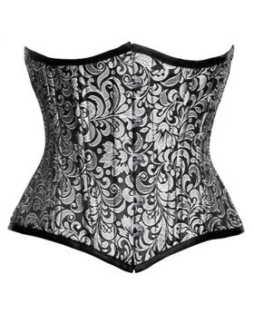 Magdalene Authentic Steel Boned Waist Training Underbust Corset