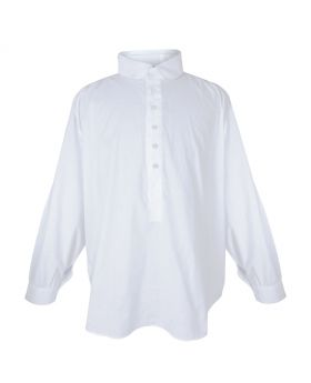 Men's white casual full sleeves shirt