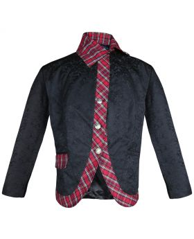 Red check Fusion Jacket