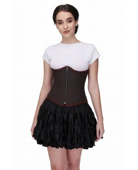 The Celitic Authentic Steel Boned  Reversible  Waist Training Underbust Corset
